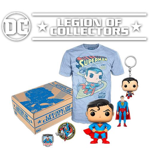 Caja Funko DC Comics Legion of Collectors - Superman - L