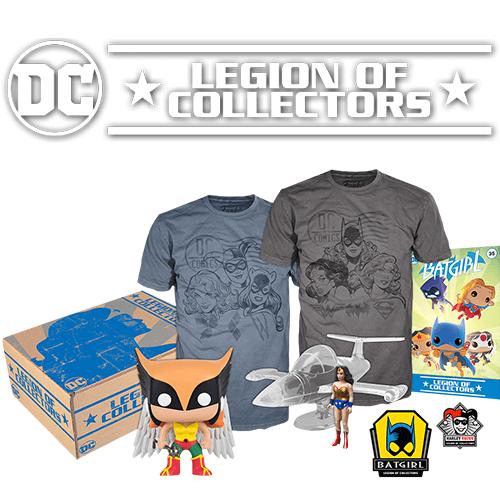 Caja Funko DC Comics Legion of Collectors - Mujeres de DC - XL