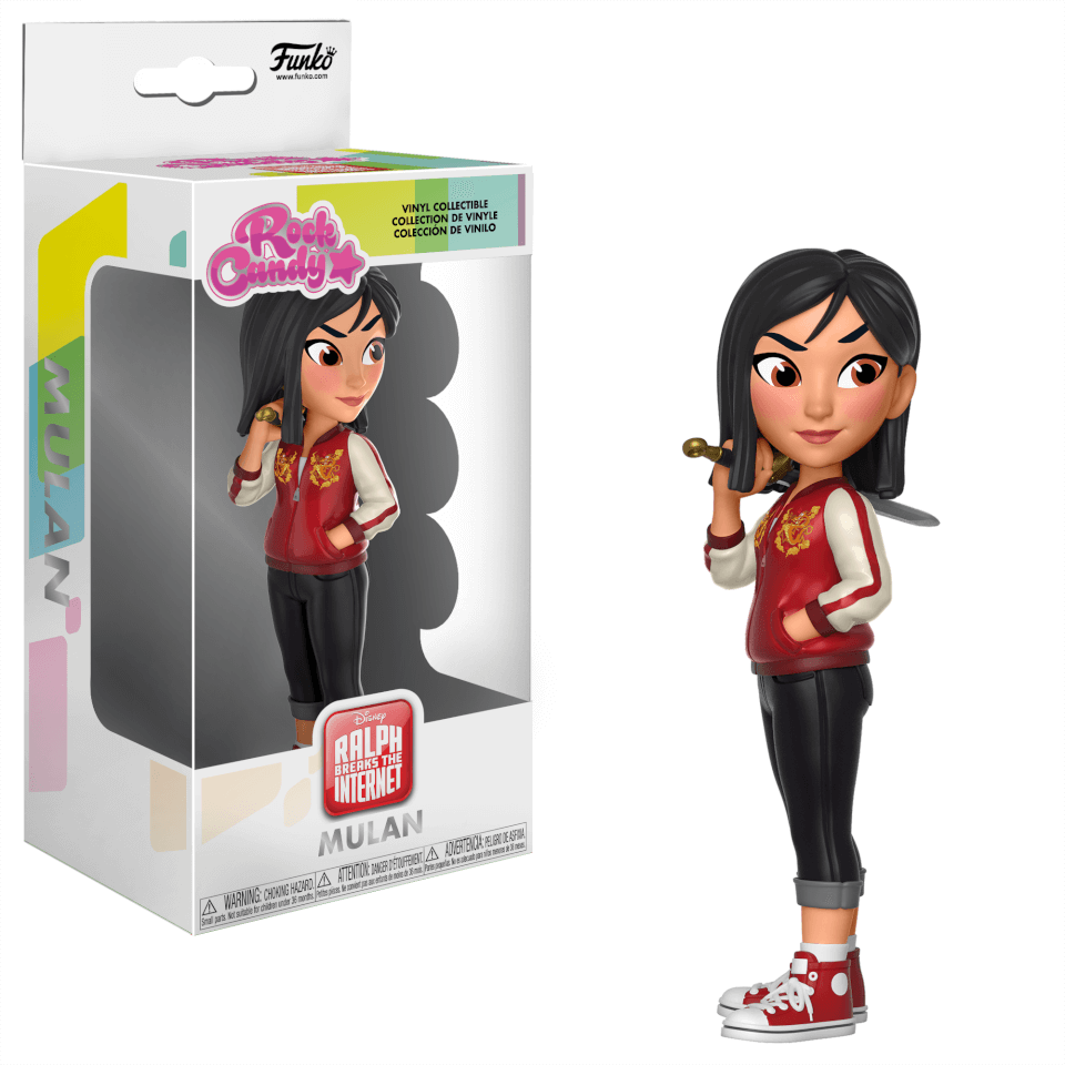 Disney Wreck It Ralph Mulan Rock Candy Figure Merchandise
