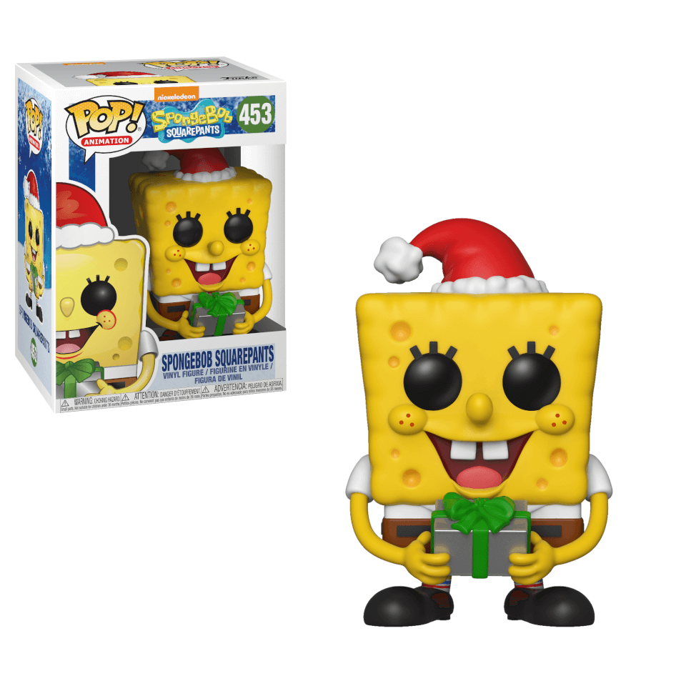 Spongebob Squarepants Holiday Pop Vinyl Figure Pop In A
