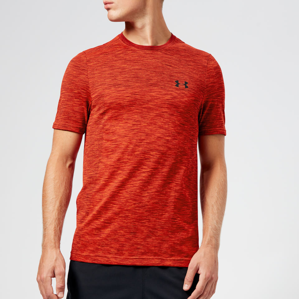 46c1fbc04c Under Armour Men's Vanish Seamless Short Sleeve T-Shirt - Radio Red