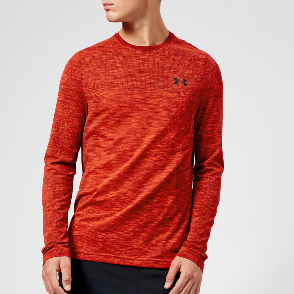 Under Armour Men's Vanish Seamless Long Sleeve Top - Radio Red | Amour