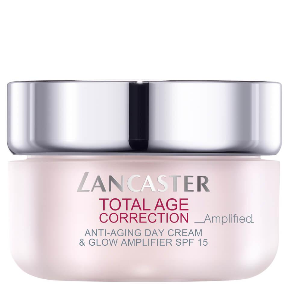 Lancaster Total Age Correction Anti-Aging Day Cream & Glow Amplifier Dagcrème 50 ml