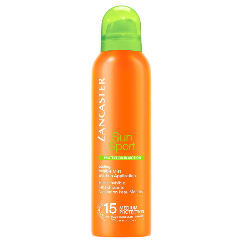 Lancaster SPF15 Cooling Invisible Mist Wet Skin Application Zonbescherming 200 ml