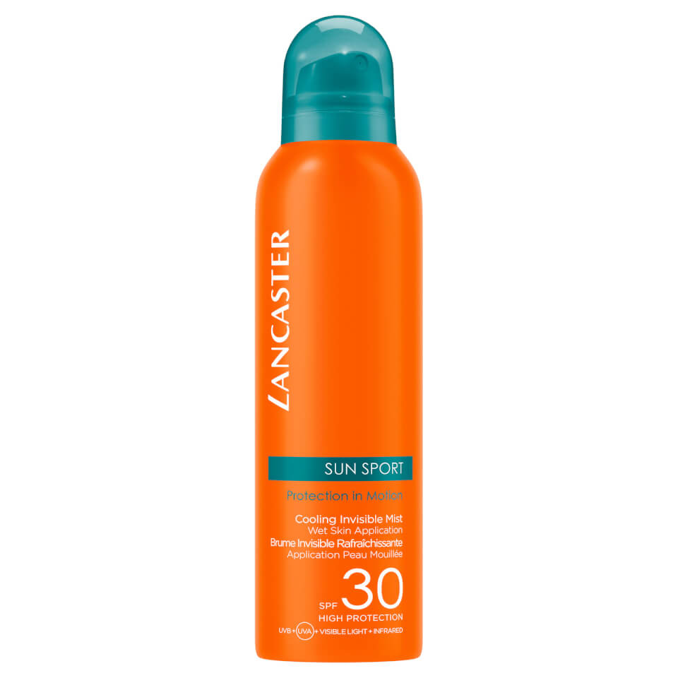 Lancaster SPF30 Cooling Invisible Mist Wet Skin Application Zonbescherming 200 ml