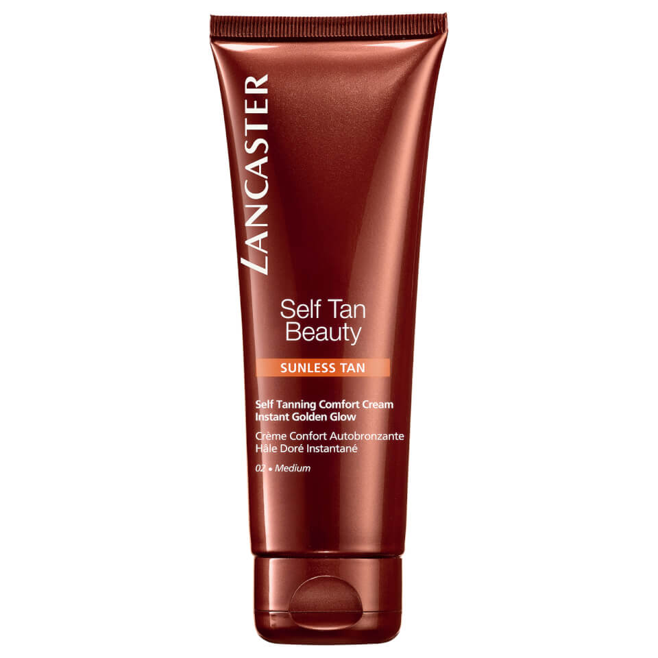 Lancaster Self Tan Beauty Comfort Cream Instant Golden Glow 125ml