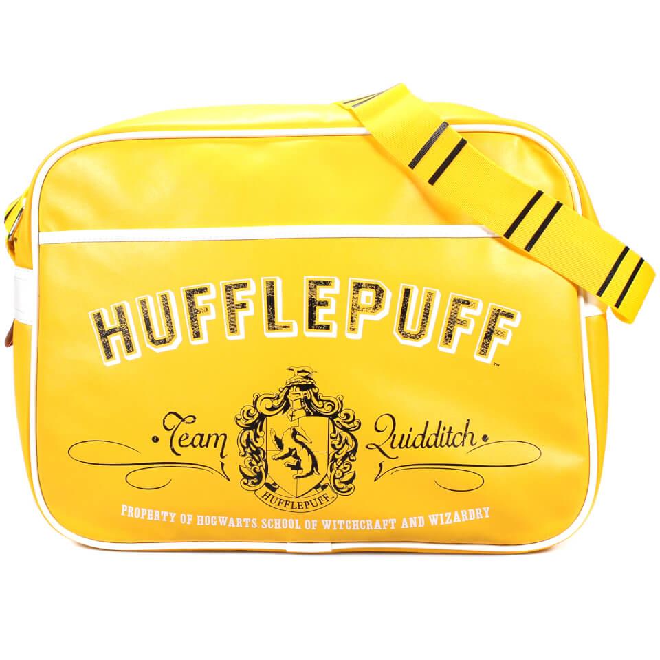 Harry Potter Retro Tasche (Hufflepuff Wappe)