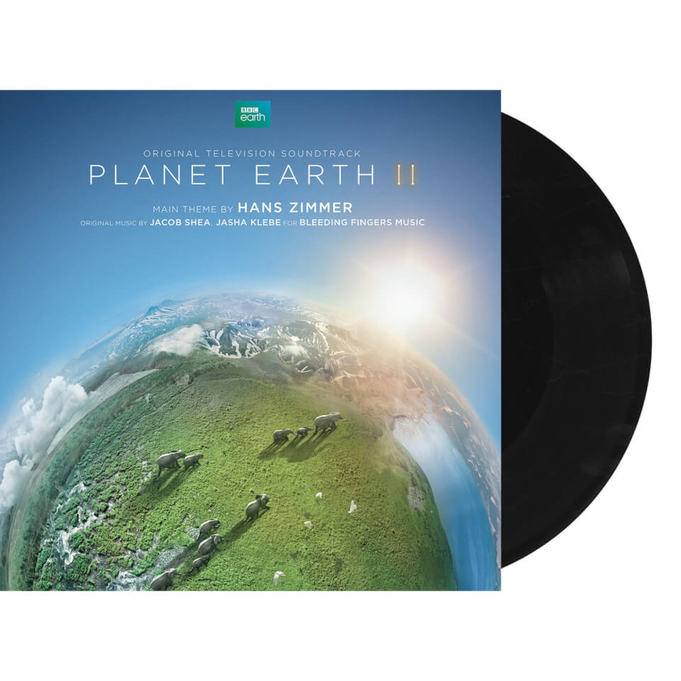 BBC Planet Earth II Deluxe Vinyl by Hans Zimmer (Includes 2 LP, 3 CD and Prints)