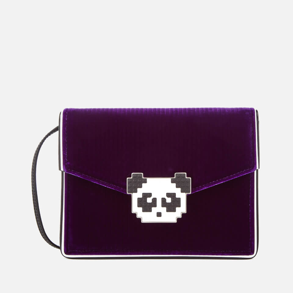 0c9d1938c5 Les Petits Joueurs Women s Lulu Panda Bag - Purple - Free UK Delivery over  £50