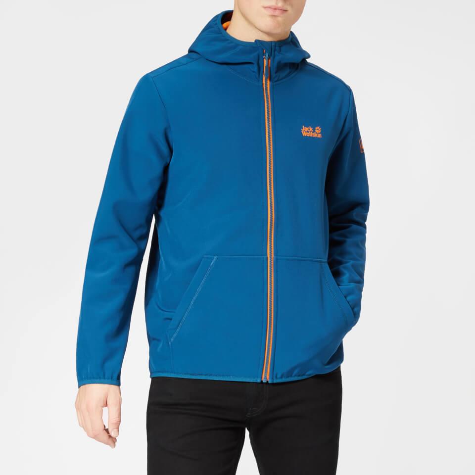 Jack Wolfskin Men's Essential Peak Jacket - Poseidon Blue - M - Blue