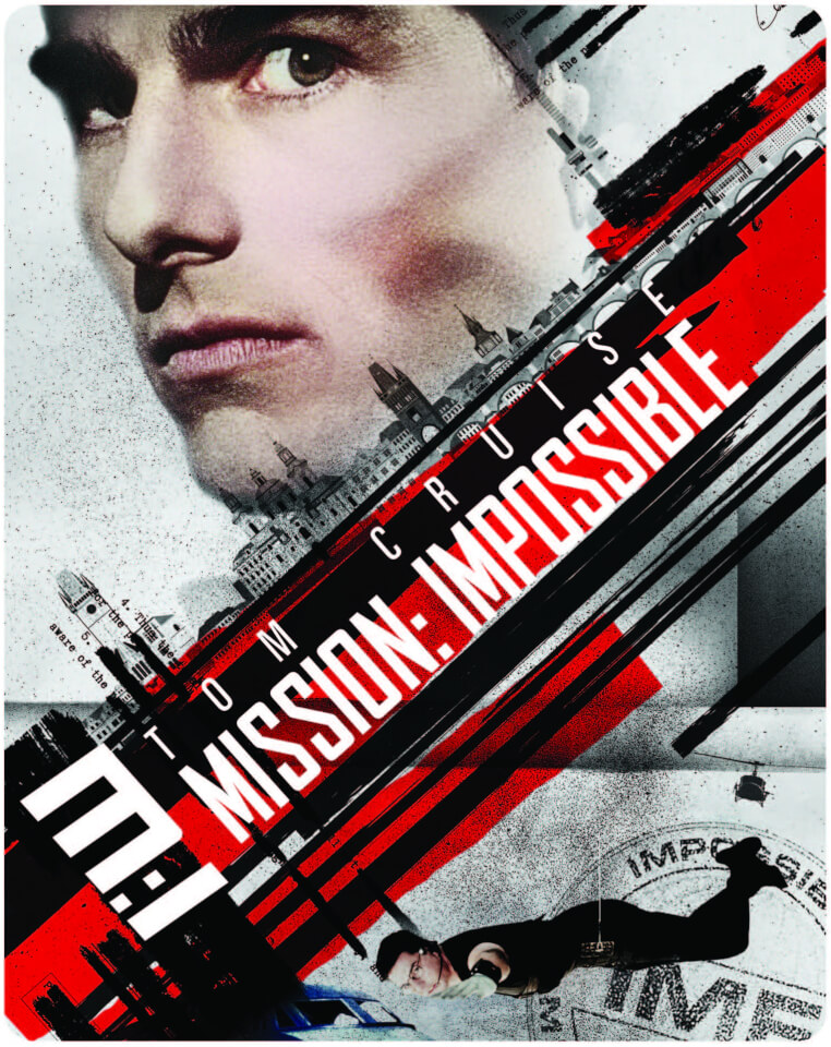 Mission Impossible I 4k Ultra Hd Limited Edition Steelbook Blu Ray Zavvi