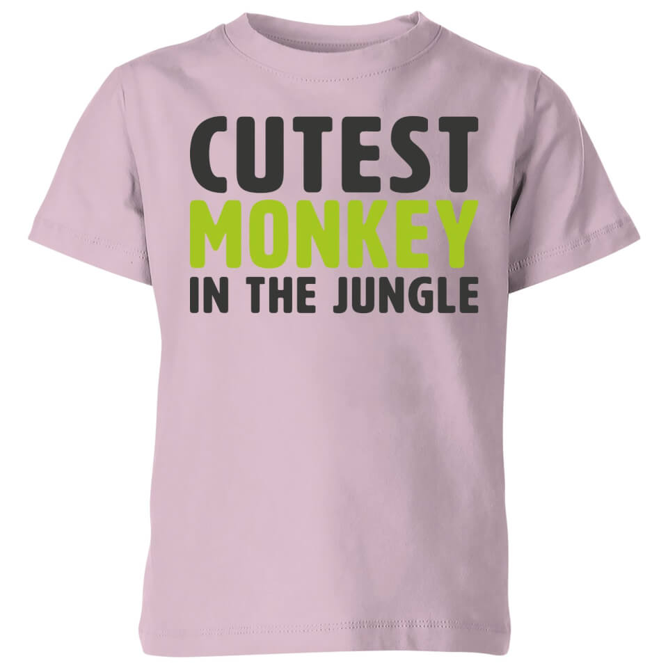 My Little Rascal Cutest Monkey In The Jungle Baby Pink