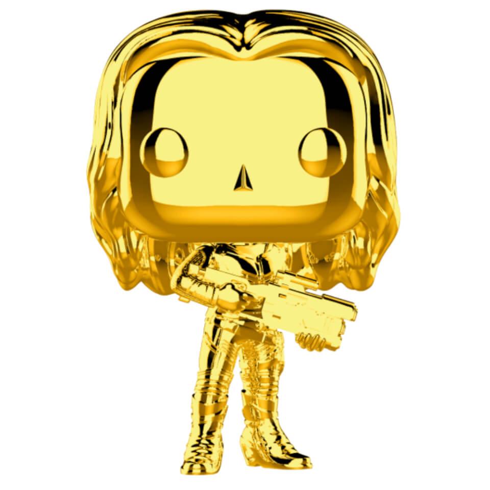Nützlichfanartikel - Marvel MS 10 Gamora Gold Chrome Pop! Vinyl Figur - Onlineshop Sowas Will Ich Auch