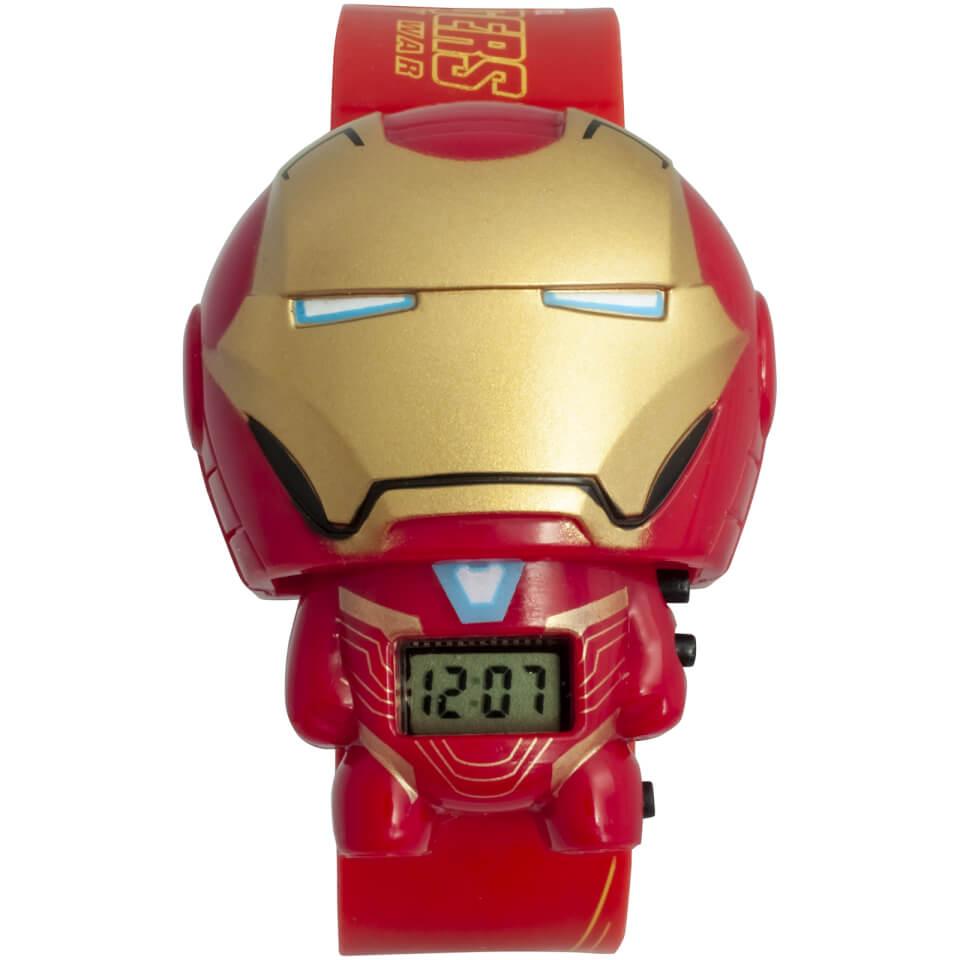 Nützlichfanartikel - BulbBotz Marvel Avengers Infinity War Iron Man Armbanduhr - Onlineshop Sowas Will Ich Auch