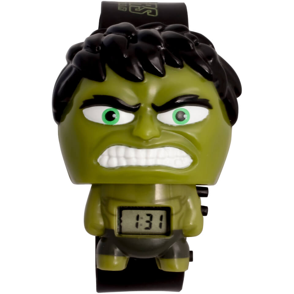 Nützlichfanartikel - BulbBotz Marvel Avengers Infinity War Hulk Armbanduhr - Onlineshop Sowas Will Ich Auch