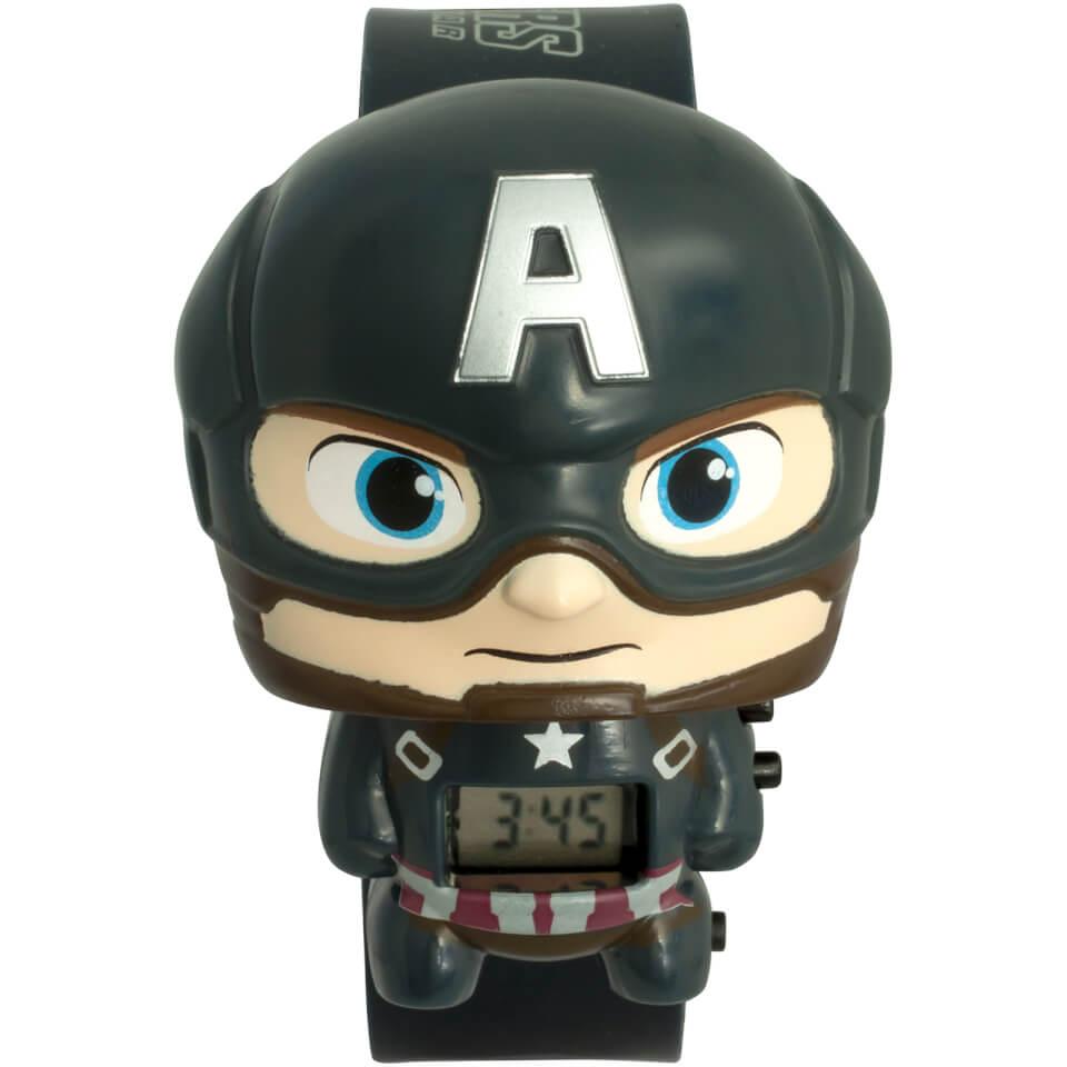 Nützlichfanartikel - BulbBotz Marvel Avengers Infinity War Captain America Armbanduhr - Onlineshop Sowas Will Ich Auch