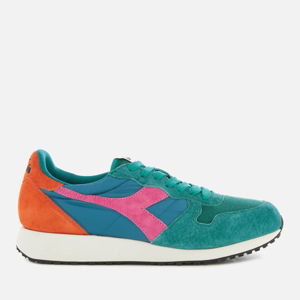 Diadora Men's Tornado Mii Valanga Azzurra Trainers - Emerald - UK 8 - Green