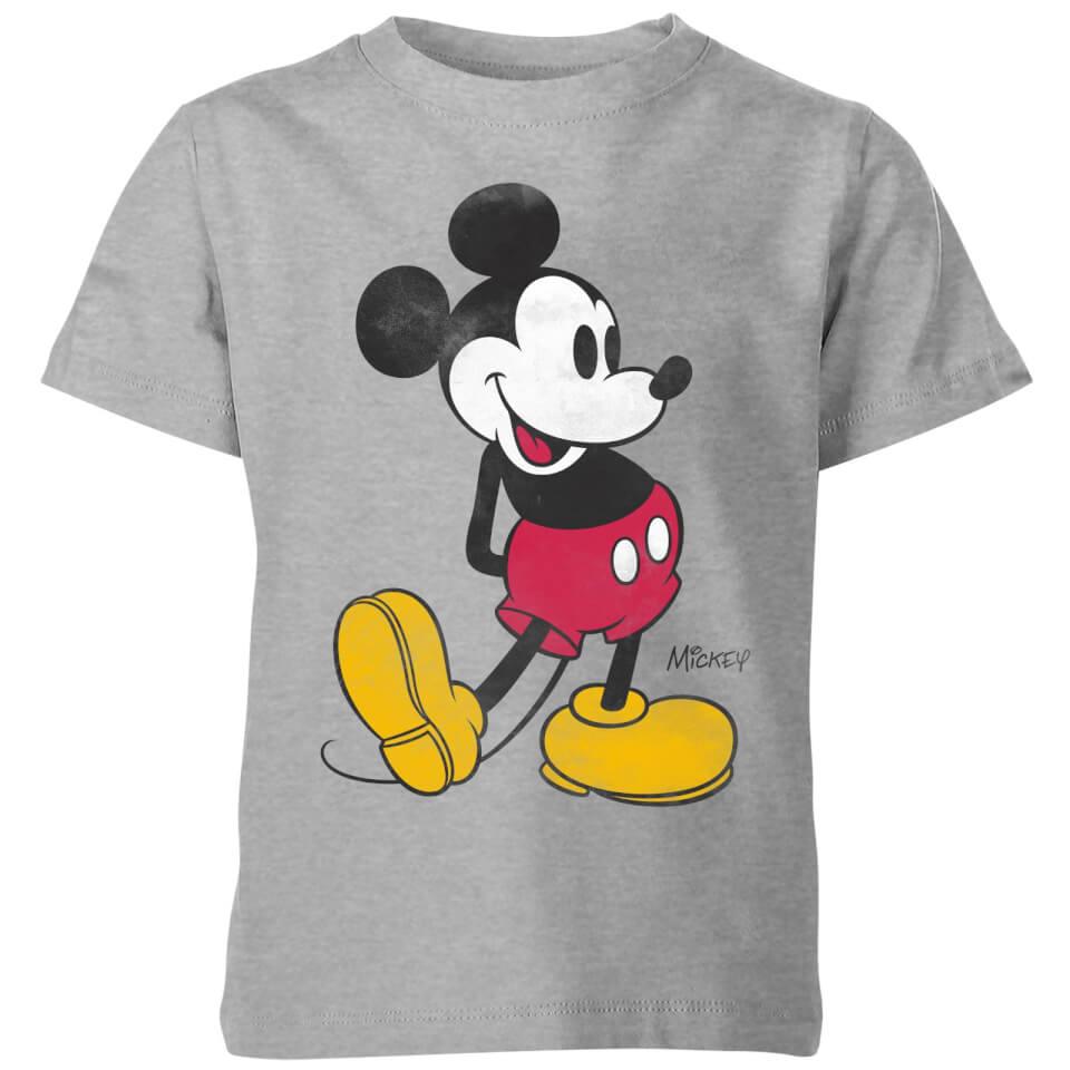 Nützlichfanartikel - Disney Classic Kick Kinder T Shirt Grau 11 12 Jahre Grau - Onlineshop Sowas Will Ich Auch