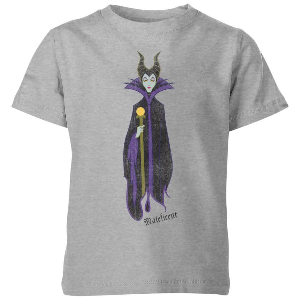 Camiseta Disney La Bella Durmiente Maléfica - Niño - Gris - 11-12 años - Gris