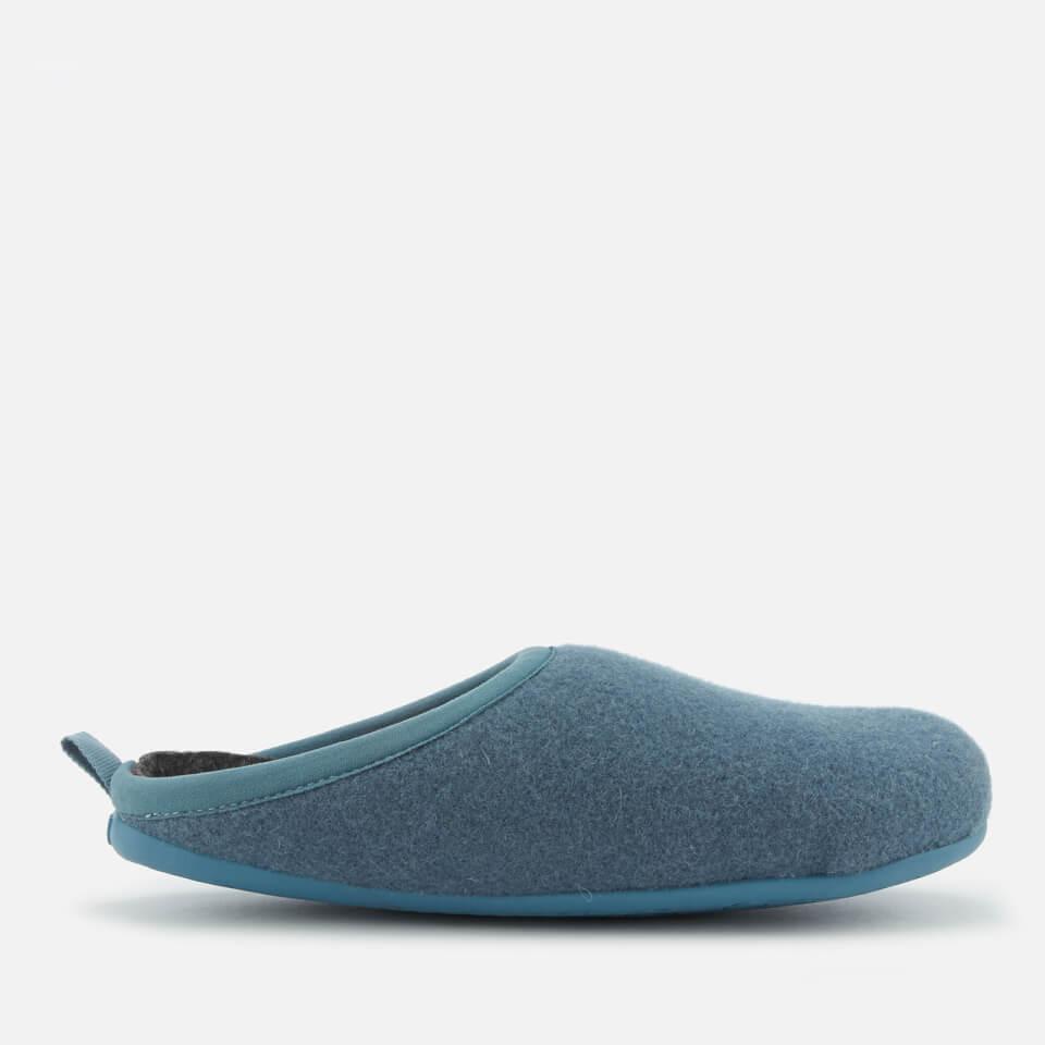 0531a30b5db Camper Women s Wabi Wool Slippers - Medium Blue Womens Footwear ...