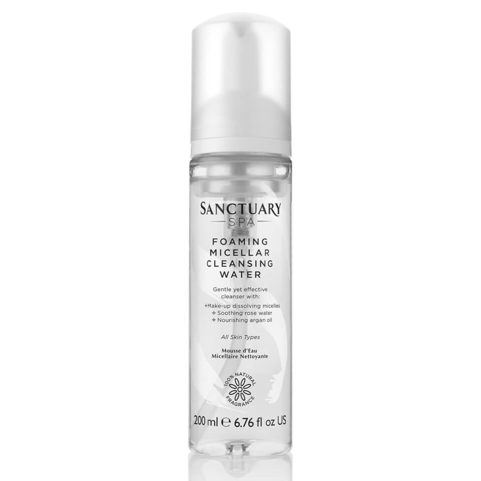 Sanctuary Spa Foaming Micellar Cleansing Water 200ml by Sanctuary Spa