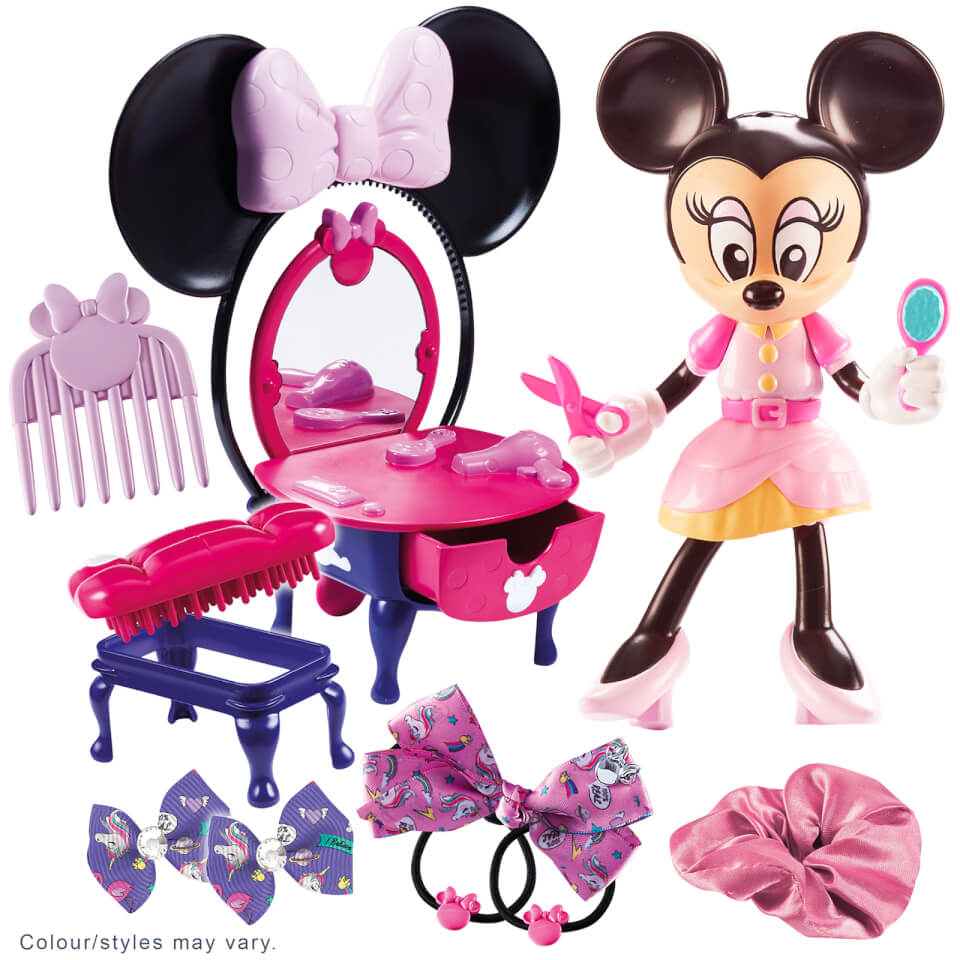 Little Live Pets Minnie Mouse Dressing Table and Hair Salon Set