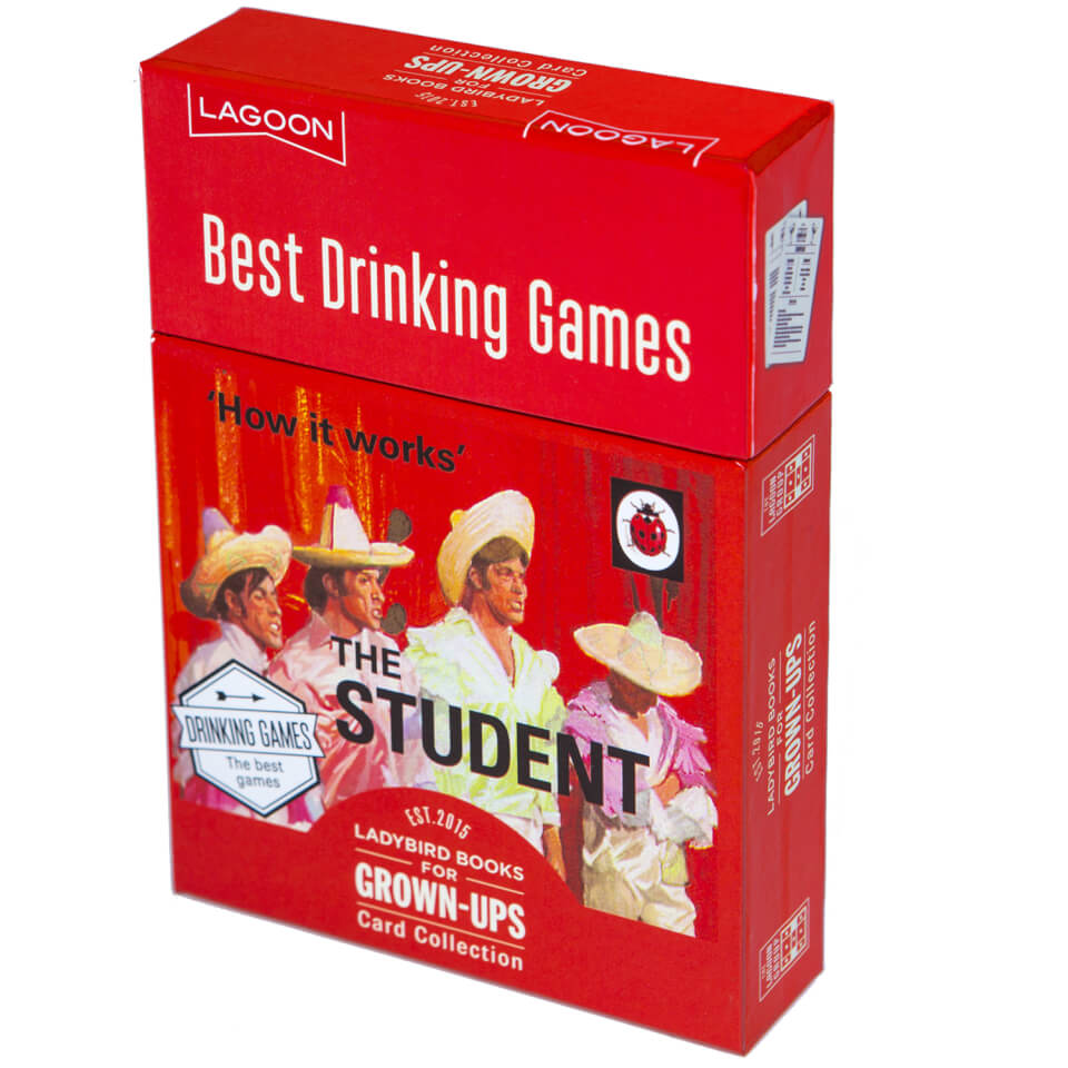 Ladybird Books for Grown Ups Best Drinking Games
