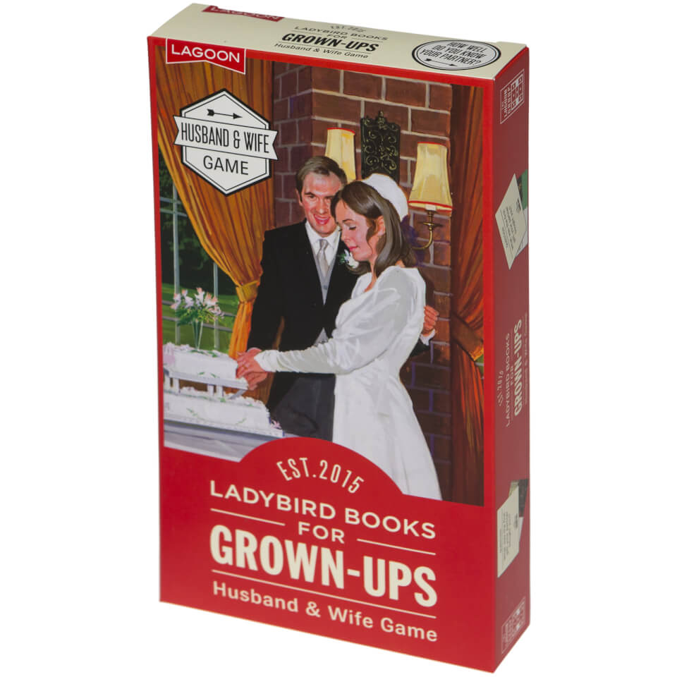 Ladybird Books for Grown Ups Husband and Wife Game