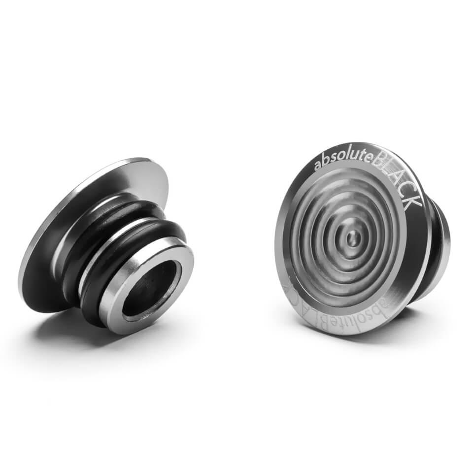 AbsoluteBLACK Aluminium Bar Plugs   Handlebar end plugs