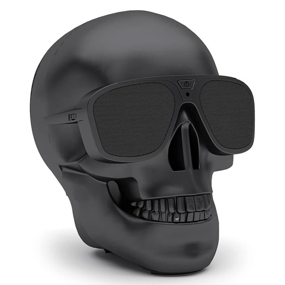 Ausgefallengadgets - Jarre AeroSkull XS Bluetooth Portable Speaker Matt Black - Onlineshop Sowas Will Ich Auch