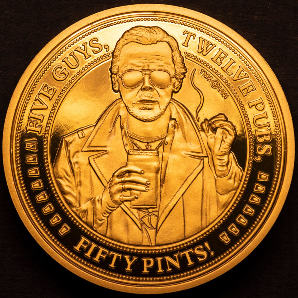 World's End Collectors Coin: Gold Variant - Zavvi Exclusive (Limited to 1000)
