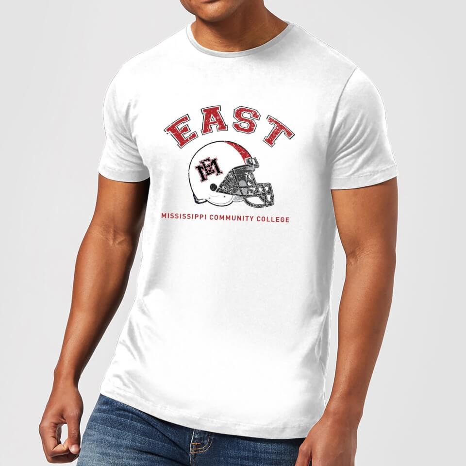 Camiseta East Mississippi Community College Helmet - Hombre - Blanco - M - Blanco
