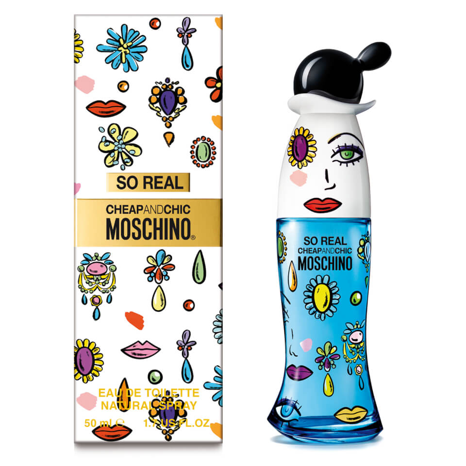 Moschino So Real Eau de Toilette 50ml Vapo