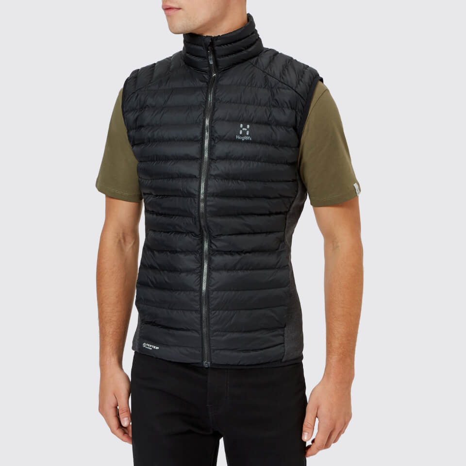 Haglofs Men's Essens Mimic Vest - True Black - S - Black