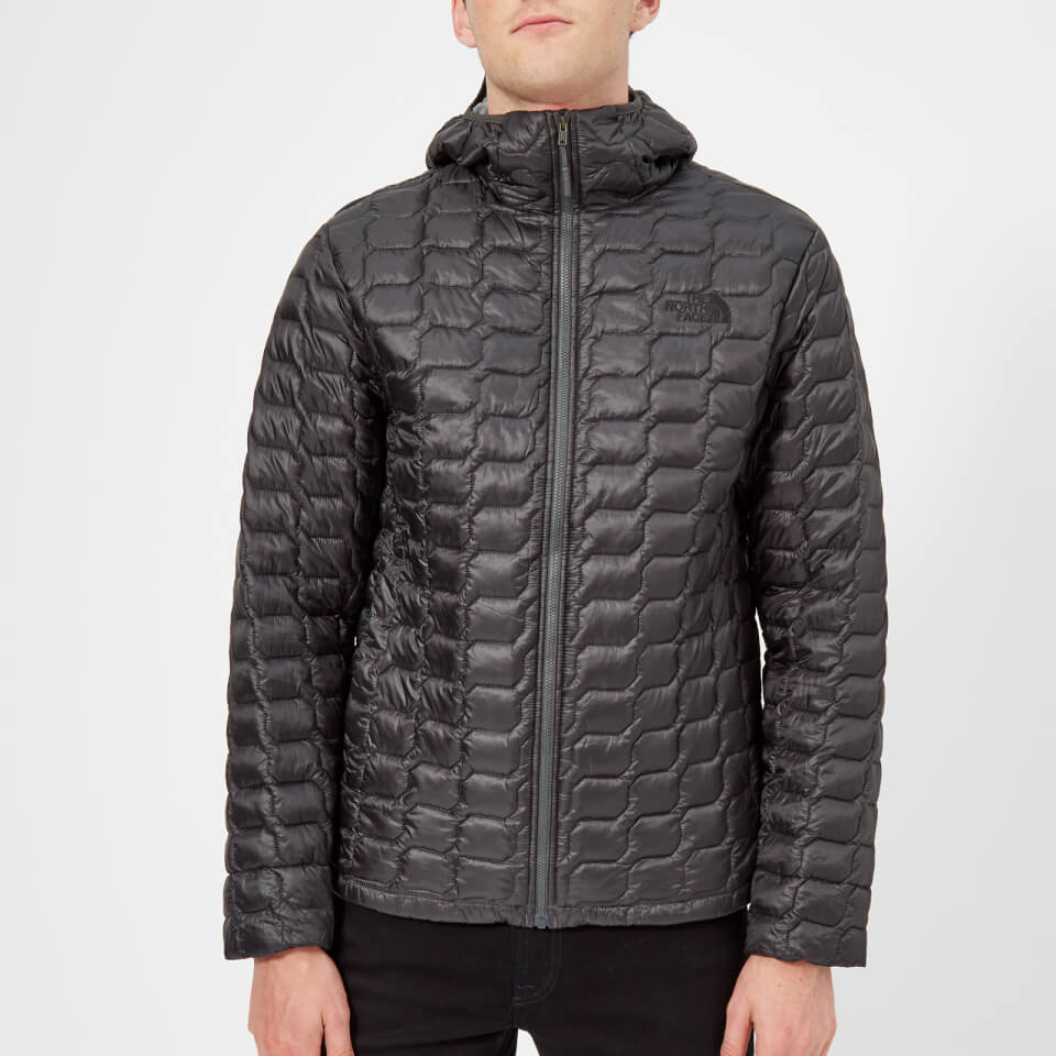 The North Face Men s Thermoball Hooded Jacket - Asphalt Grey Fusebox Grey  Process Print Clothing  7032814c7