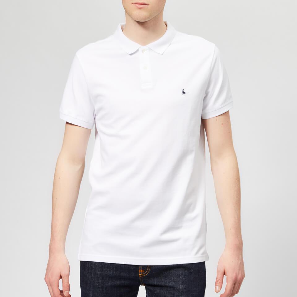Jack Wills Men's Aldgrove Polo Shirt - White - L - White