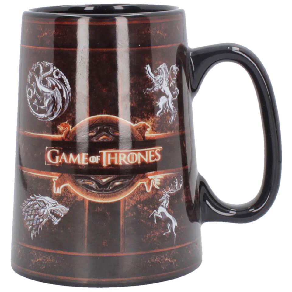 Game of Thrones Ceramic Rustic Sigil Tankard