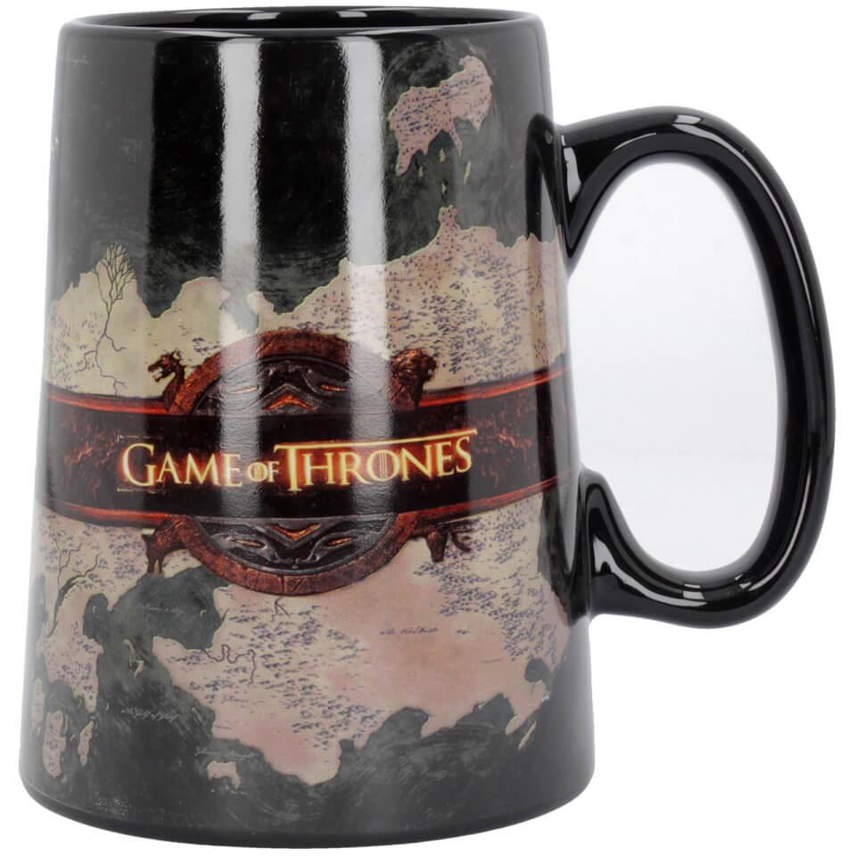 Game of Thrones Ceramic Map Tankard