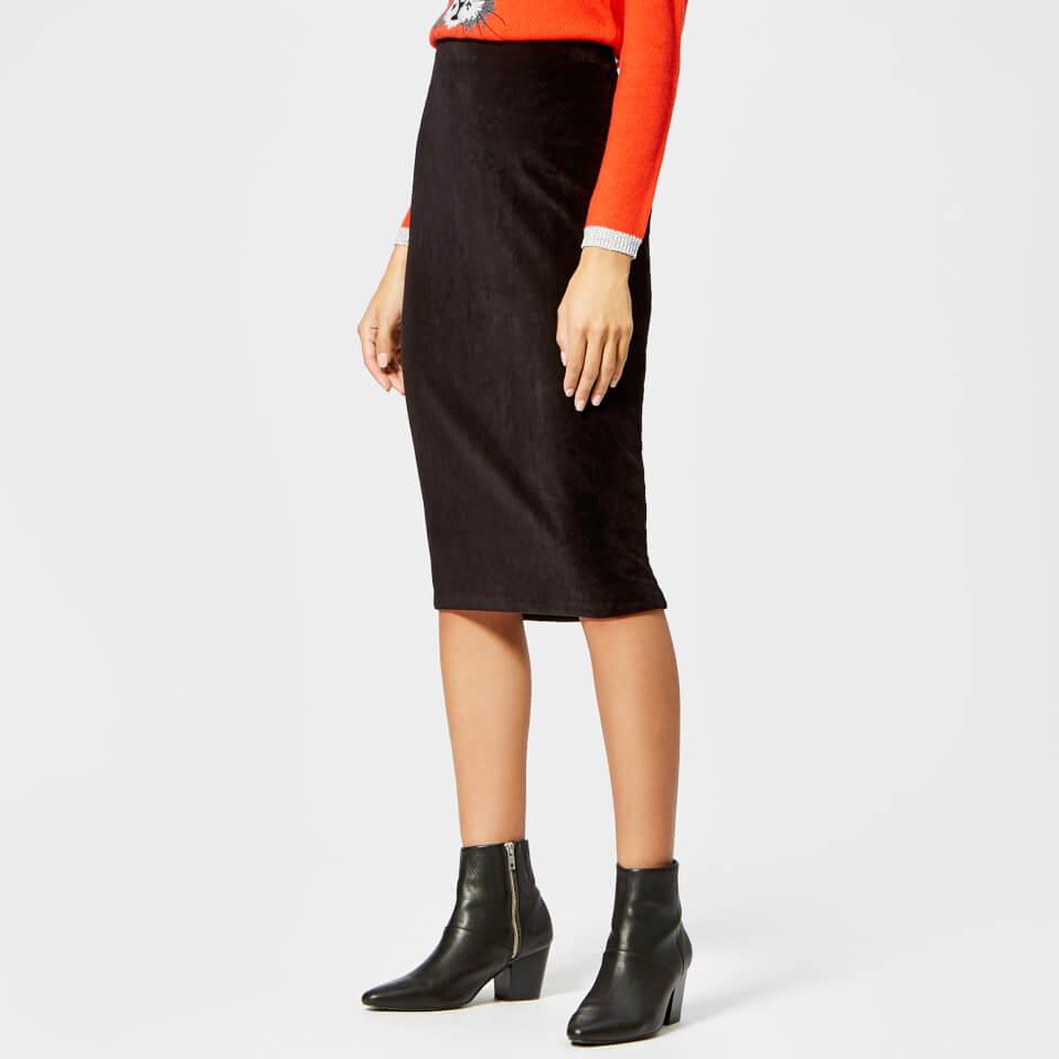 Whistles Women's Velvet Tube Skirt - Black - XS - Black