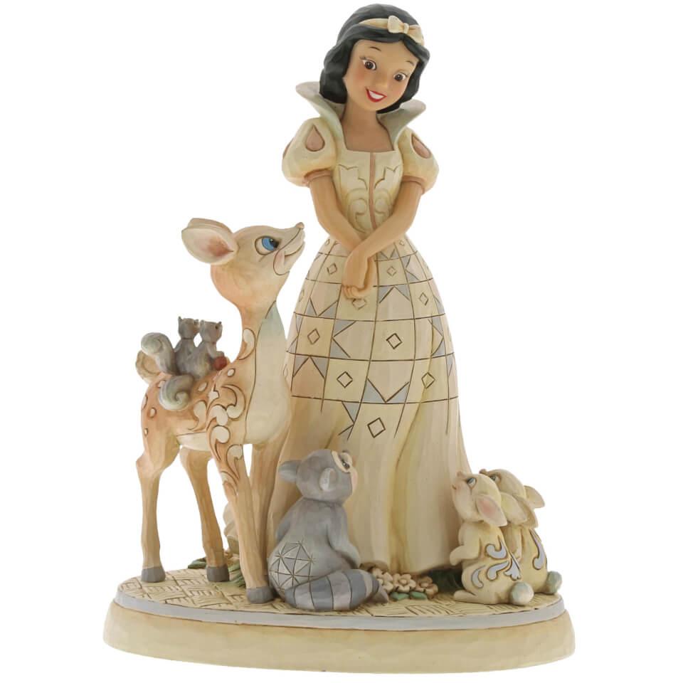 Nützlichfanartikel - Disney Traditions Forest Friends White Wonderland Snow White Figurine - Onlineshop Sowas Will Ich Auch