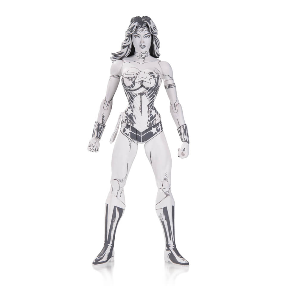 DC Blueline Wonder Woman By Jim Lee Action Figure