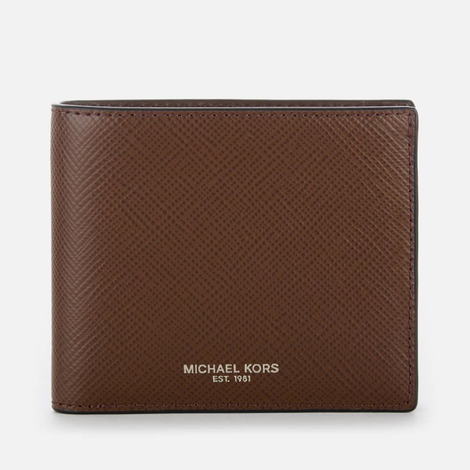 eb9480e5db6f8 Michael Kors Men s Harrison Billfold Wallet - Mocha