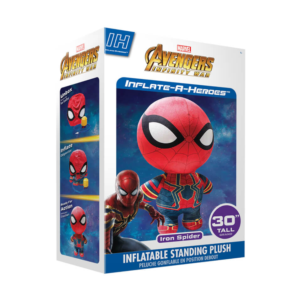 Inflate-A-Heroes - 30   Spiderman (Infinity War)