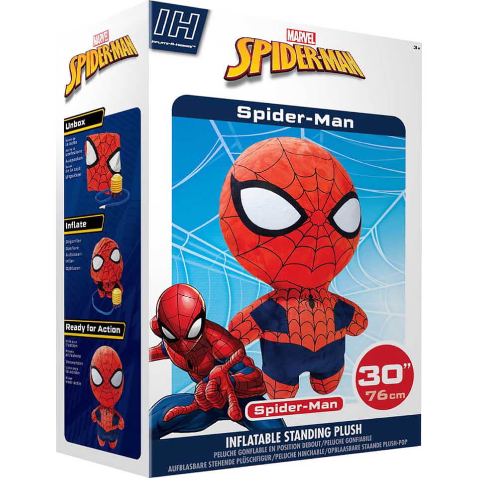 Inflate-A-Heroes - 30   Spiderman (Marvel)
