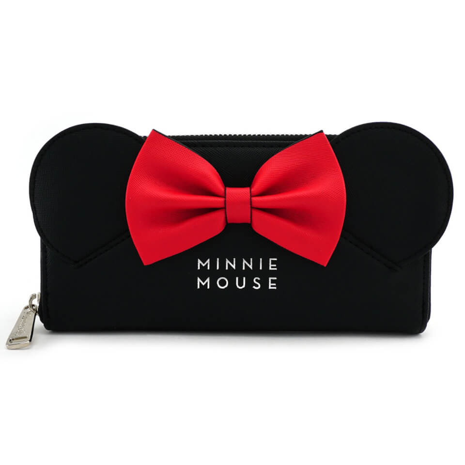 Loungefly Disney Minnie Mouse with Ears and Bow Wallet