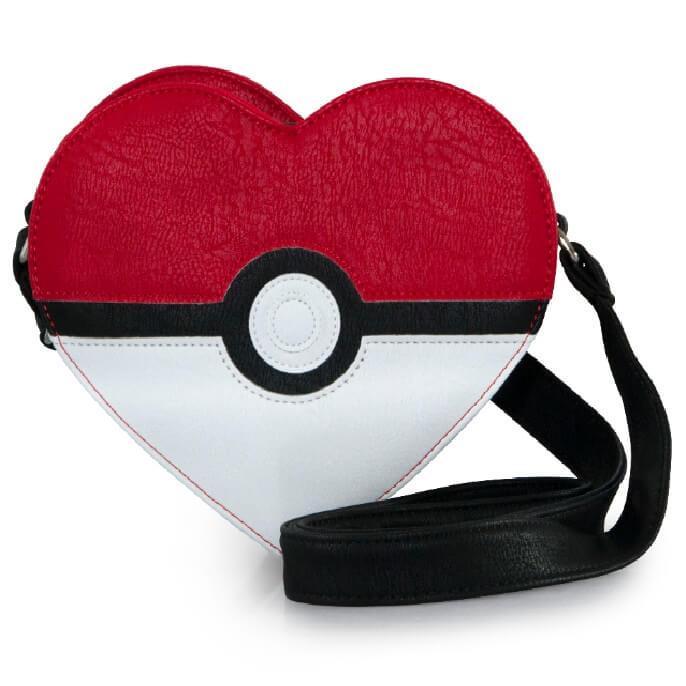 Bandolera - Loungefly Pokémon - Pokéball Corazón