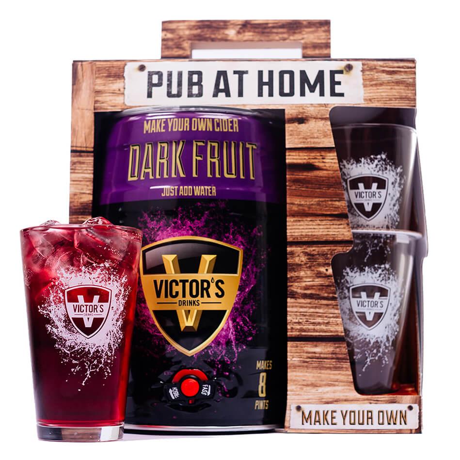 Victor's Drinks Pub At Home Dark Fruit Cider