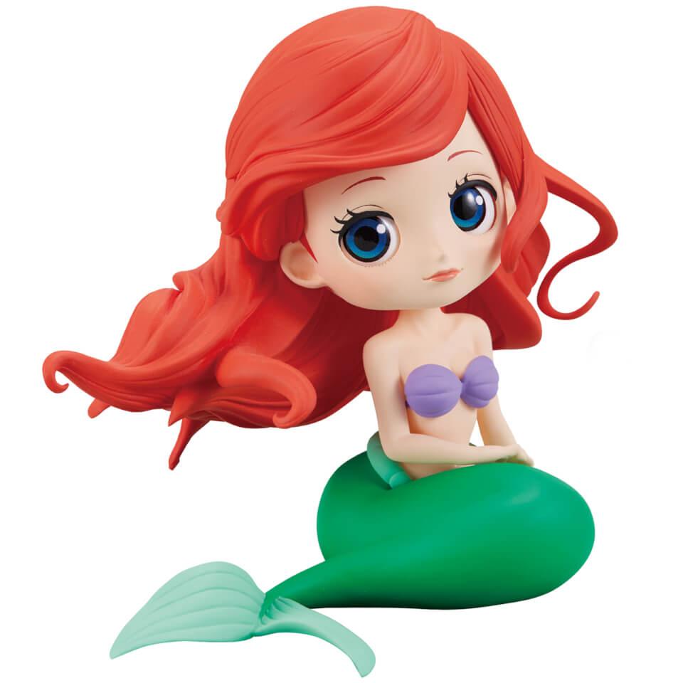 Banpresto Q Posket Disney The Little Mermaid Ariel Figure 14cm (Normal Colour Version)