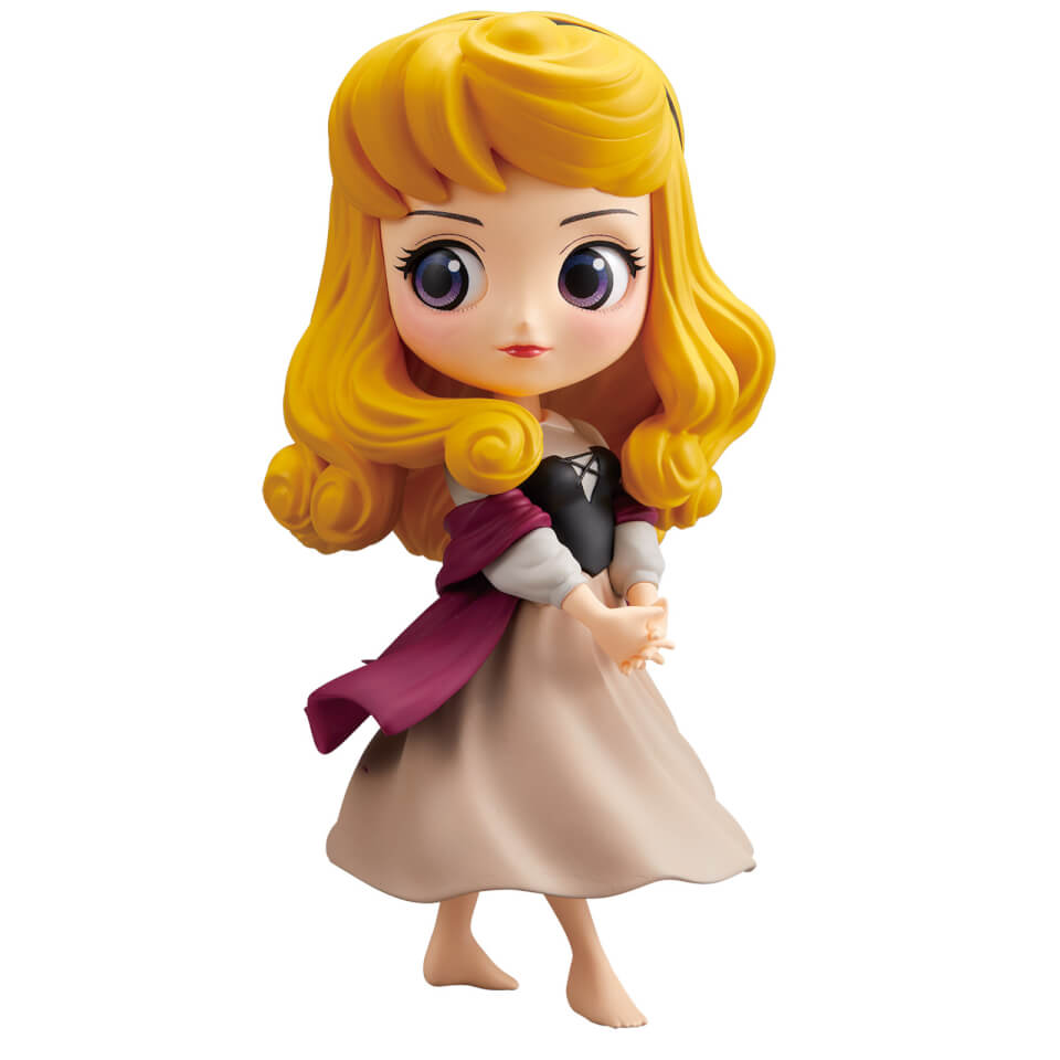 Banpresto Q Posket Disney Sleeping Beauty Princess Aurora Figure 14cm (Normal Colour Version)