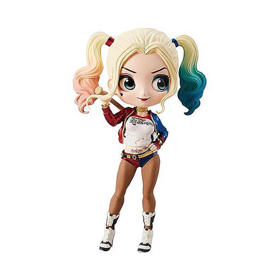 Banpresto Q Posket DC Comics Suicide Squad Harley Quinn Figure 14cm (Normal Colour Version)